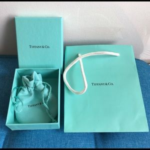 Tiffany & Co. bag pouch and box